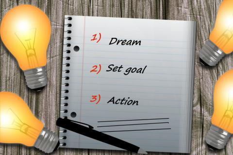 Marzenia, cele i realizacja.